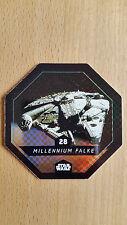 REWE Star Wars Cosmic Shells Glitzer,Millennium Falke, Nr.28