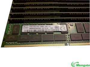 128GB (4x32GB) DDR4 2400 PC4-19200T-R ECC Reg Server Memory RAM Dell R430