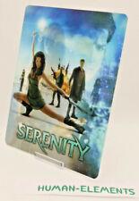 SERENITY (firefly) - Lenticular 3D Flip Magnet Cover FOR bluray steelbook