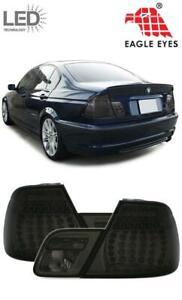 2 FEUX ARRIERE FULL BLACK NOIR A LED BMW SERIE 3 E46 BERLINE 10/2001 A 03/2005