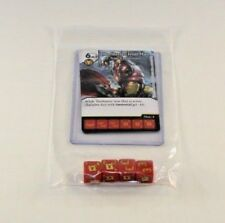 Marvel Dice Masters Mighty Thor THORBUSTER IRON MAN RARE Uncommon Set CUR 4 dice