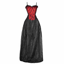 Full Length Cotton Blend Party Patternless Dresses for Women