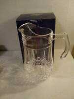 Cris D'arques Durand LONGCHAMP 1.5L Pitcher with Original Box made in France