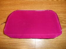 Lancome Velour Dark Pink Makeup Cosmetic Bag Travel Case 2018 NEW!