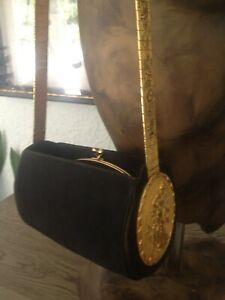 vintage  rare Harry Rosenfeld1972 gold medallion purse