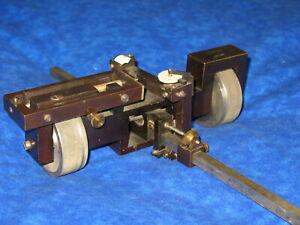 Antique Coradi Planimeter Zurich No. 1252 Map Maker Tool Globe World State