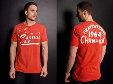 Roots of Fight Cassiuc Clay 1964 Champion Sun Faded XXL RED T-shirt,Muhammad Ali