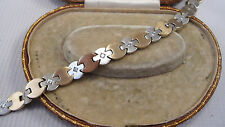 "Tennis Multi-Tone Gold 7 - 7.49"" Fine Diamond Bracelets"