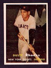 1957 Topps #61 Dusty Rhodes New York Giants NM Plus
