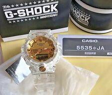New 2018 Casio G-Shock GA-835E-7AJR 35 th Anniversary Limited Glacier GOLD Japan