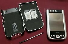 Dell Axim X50 Pocket Pc Handheld Pda With Rhino Skin Metal Case - Untested