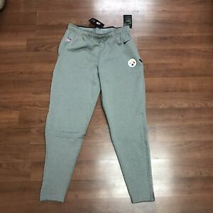 Mens Nike On Field Pittsburgh Steelers Therma Fit Sweatpants Jogger  NFL Large