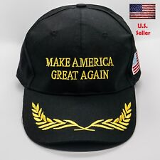 President Donald Trump Make America Great Again Hat US Adjustable Cap Black Star