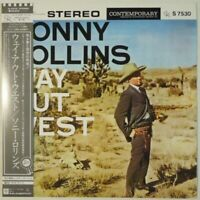 Sonny Rollins Way Out West Contemporary Records P-7578 OBI JAPAN VINYL LP JAZZ