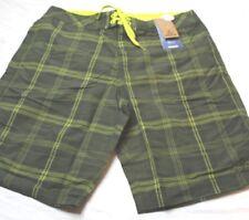 prAna Men's EL Porto Green Cargo Swim Shorts Trunks Size 30 MSRP $69 New NWT