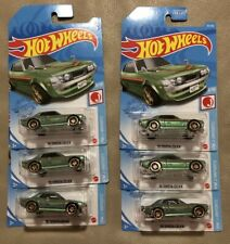 2021 Hot Wheels '70 Toyota Celica G Case Green Lot Of 6