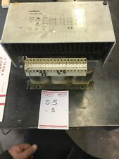 SIEMENS POWER SUPPLY 4AV3402-2AB Used