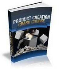Product Creation Crash Course Ebook On CD $5.95 Plus Resale Rights Free Shipping