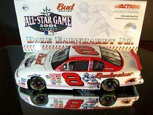 Dale Earnhardt Jr 8 Budweiser MLB Baseball All-Star Game 2001 Chevrolet MC Clean