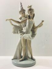 Lladro Porcelain Carnival Couple Figurine