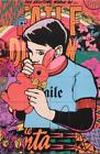 Faile Bunny Boy Dreams print limited edition street art graffiti pop rare
