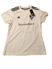 Colorado Rapids MLS Adidas White Official Climalite Team Replica Jersey