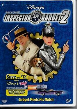 Disney INSPECTOR GADGET 2 French Stewart DVD New Sealed