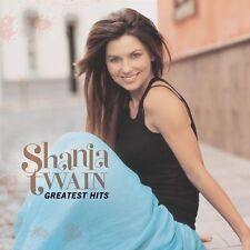 """SHANIA TWAIN """"GREATEST HITS"""" CD NEW"""