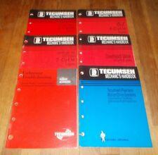 "Tecumseh ""Mechanics Handbook""  (Lot of 6)"