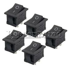5PCS 2Pin Snap-in ON/OFF KCD1-101 Car Boat Round Rocker Toggle SPST Switch 125V