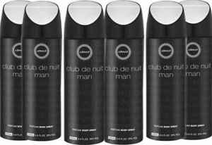 6x Armaf Club De Nuit Intense Man Body Spray 200ml PACK OF SIX ( Free Delivery )