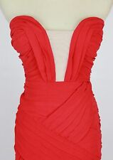 City Triangles $110 Red Evening Prom Formal Cruise Long Cocktail Dress size 7