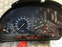 BMW 740i E38 PETROL SPEEDOMETER INSTRUMENT CLUSTER SPEEDO CLOCK 8364005