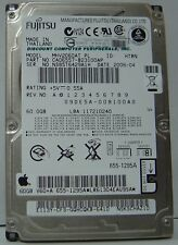 "Lot of 4 Fujitsu MHV2060AT 60GB 2.5"" IDE Drive Tested Good Free USA Shipping"