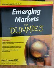 Emerging Markets for Dummies by Ann C. Logue (2011)