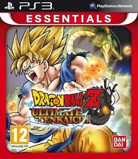 New Dragon Ball Z Ultimate Tenkaichi Essentials (PS3, Playstation 3)
