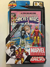 Marvel Universe Comic Packs Iron Man & Spider-Woman NEW with Comic Book! 2009