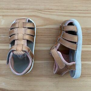 SEE KAI RUN Rose Gold Sandals Size 4 Toddler