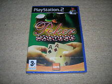 POKER MASTERS  - Rare New & Sealed Sony PS2 Game