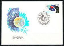 Soviet Russia 1991 SPACE cover FDC INTERKOSMOS Soviet Great Britain flight.