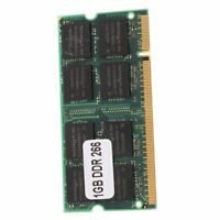 1GB 1G Speicher RAM Memory PC2100 DDR CL2.5 DIMM 266MHz 200-pin Notebook Lapt 2I