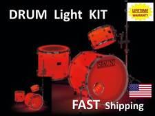 Trixon LED Drum Kit - super bright all colors available -EXCELLENT STAGE EFFECT
