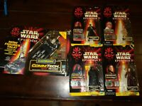 Star Wars Episode I CommTech Reader Hasbro w/ 4 Action Figures NEW 1998 Toy