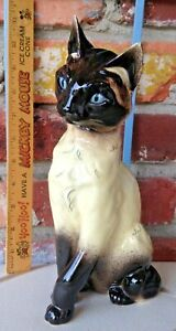 Vintage Kay Finch Anna The Siamese Cat - A Feline Pottery Masterpiece!