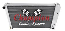 1976 77 78 79 80 81 Pontiac Firebird Champion 4 Row Aluminum Radiator MC477