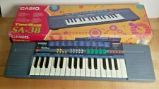 Rare Vintage Casio Tone Bank Mini Keyboard Sa-38 Tested Batteries Included