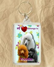 Poodle Dog Key Ring By Starprint Mum and Pups