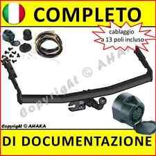 Gancio di traino fisso Nissan Almera Tino V10 2000-2006 + kit elettrico 13-poli
