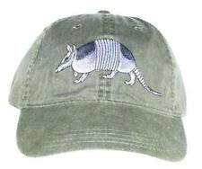 Armadillo Embroidered Cotton Cap NEW Wildlife