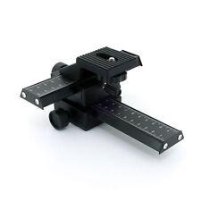 4 way Macro Focusing Rail Slider for SLR DSLR digital/film Camera Bellows,in USA